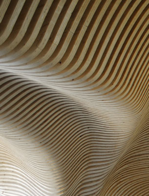 Subtle Digital Form + Sustainable Timber + CNC Milling - Boston MA