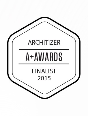 Finalist in the Architizer A+ Awards for the Plus Categories | Architecture +Materials
